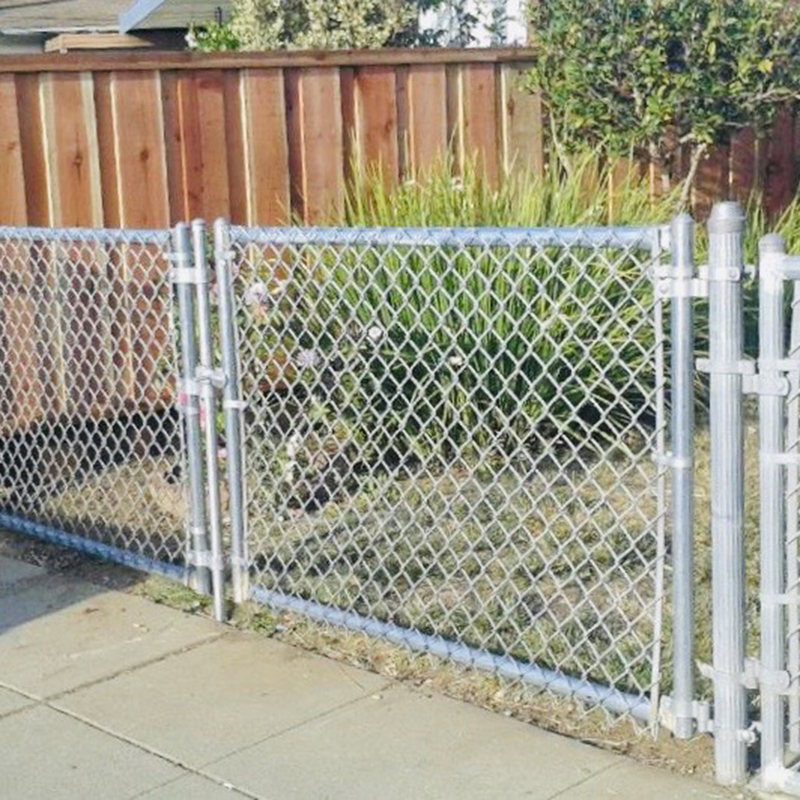 4ft high Double Gate